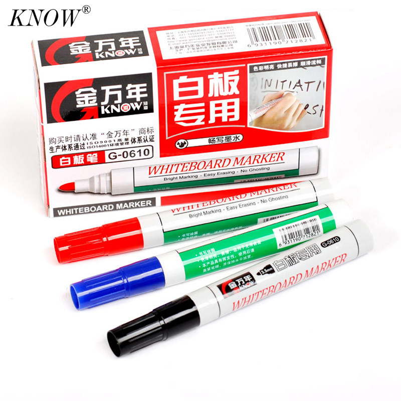know 10pcsset whiteboard pen erasable marker pens marqueur effacable dry erase markers boards markers