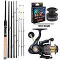 Sougayilang 3.0M Feeder High Carbon Rod Sets with 13+1BB Spinning Reel  Fishing Rod Combon Feeder Rod Combos Pesca