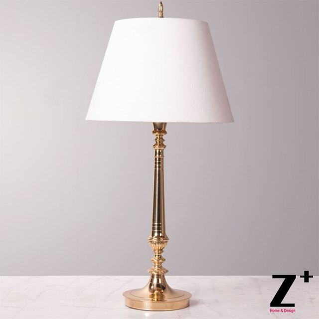 new style 061ef afe7b US $559.99 |Brass Copper White Lampshade Vintage Classical Slim Floor  Lamp-in Floor Lamps from Lights & Lighting on Aliexpress.com | Alibaba Group