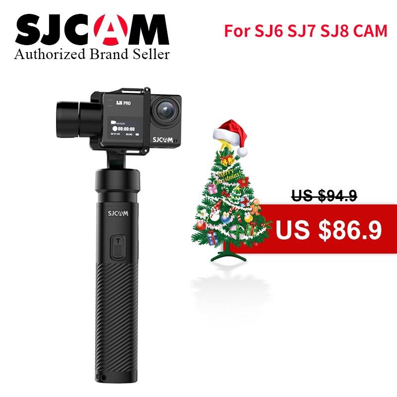 2019 SJCAM 3 Axis Handheld Gimbal Stabilizer SJ Gimbal 2 Bluetooth Control for SJ6 SJ7 SJ8