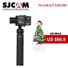 цена на 2019 SJCAM 3-Axis Handheld Gimbal Stabilizer SJ-Gimbal 2 Bluetooth Control for SJ6 SJ7 SJ8 Pro/Plus/Air pro yi 4k Action Camera