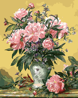 Frameless Picture Painting By Numbers DIY Digital Canvas Oil Painting Home Decor Living Room Of Flower
