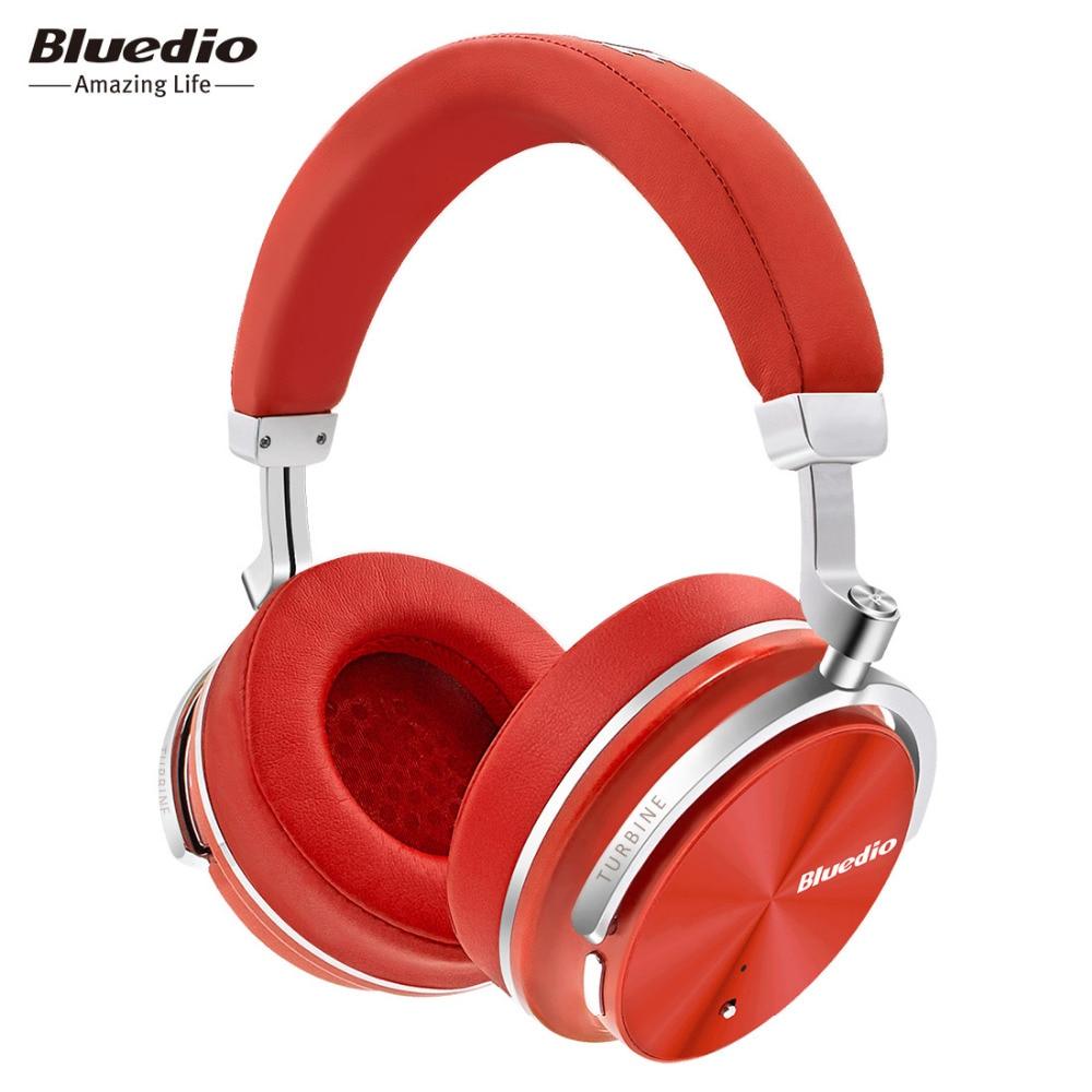 bilder für Bluedio T4S Aktive Noise Cancelling Wireless Bluetooth Kopfhörer wireless Headset mit Mikrofon