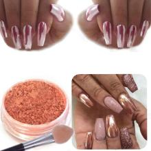 Nail Art 1PC  Powder Art Decoration Sexy Rose Gold Mirror Chrome  Nail Art Accessories 2018 Oct12
