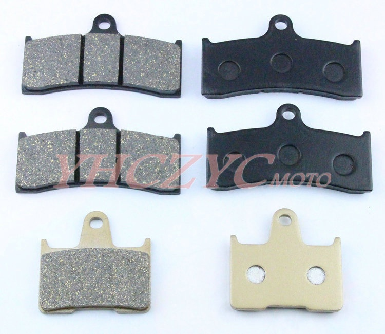 For HONDA CB1300 SC40 98 00 motorcycle front and rear brake pads set