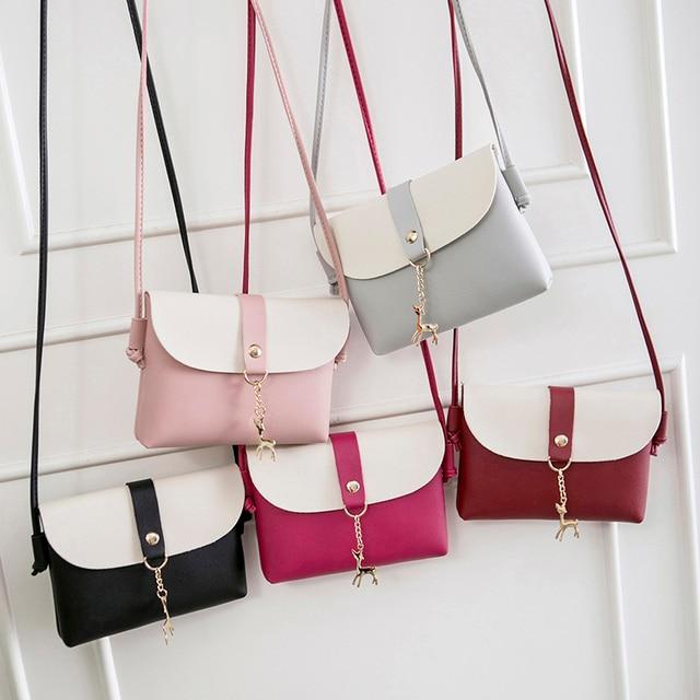 2018 Mulheres Doce Senhora Ombro Pacote Bolsa de Moda Bolsa Crossbody Bag Smartphone Dinheiro BS88