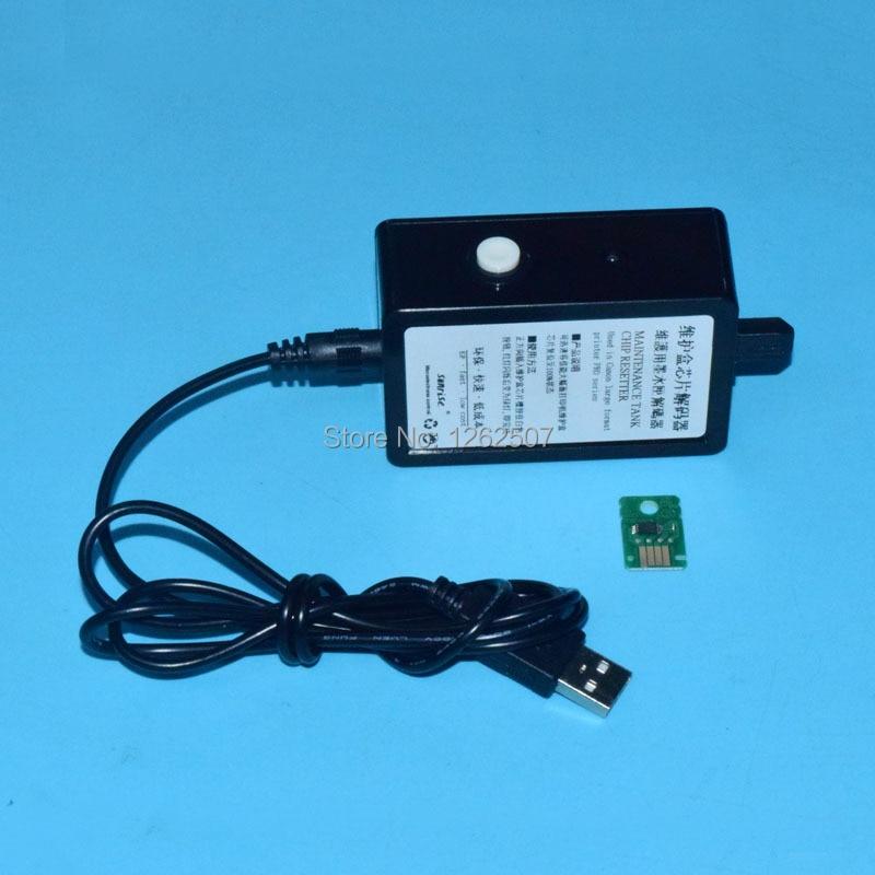 MC30 отработанных чип resetter + отработанных чернил Танк Чип для canon MC-30 pro 560 S 540 540 S 520 6000 s 4000 4000 S части принтера
