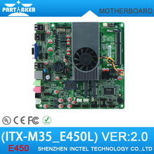 E450 Dual Core 1.65GHz Motherboard with HDMI /VGA/ LVDS ITX-M35_E450L VER :2.0