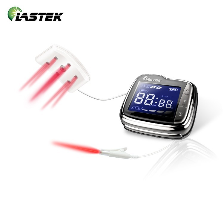 18 laser diodes pain relief device protable medical therapeutic laser blood pressure apparatus wrist type ce certified reduce blood glucose soft laser therapeutic healthcare device