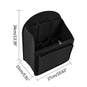Image 2 - Felt Travel กระเป๋าใส่กระเป๋าเป้สะพายหลัง,กระเป๋าสำหรับบุรุษ,ผู้หญิงกระเป๋าเป้สะพายหลัง Mummy Shoulder Tote กระเป๋ากระเป๋าถือกระเป๋าถือ