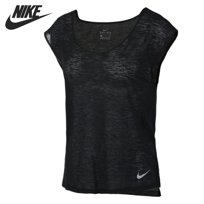Original New Arrival  NIKE AS W BRTHE TOP SS COOL Women's T-shirts short sleeve Sportswear