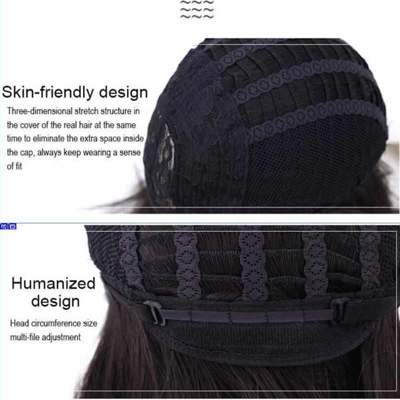 MSIWIGS короткие Омбре вьющиеся парики для черных женщин Американский Африканский натуральный синтетический афро парик с челкой высокотемпературное волокно