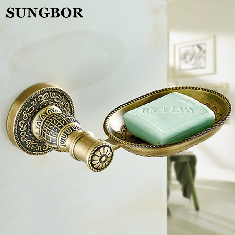 Luxury antique bathroom soap dishes,all copper retro copper soap dish,European-style bathroom brass hardware accessories european style luxury bathroom ceramic soap dish solid copper crystal soap dish rack bathroom hardware accessories