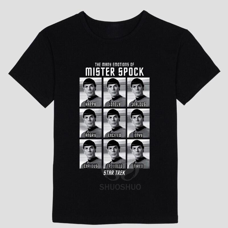 New star trek spock live long and prosper   T     Shirts   men Cotton Short Sleeve O Neck Camisa Masculina   T  -  Shirt