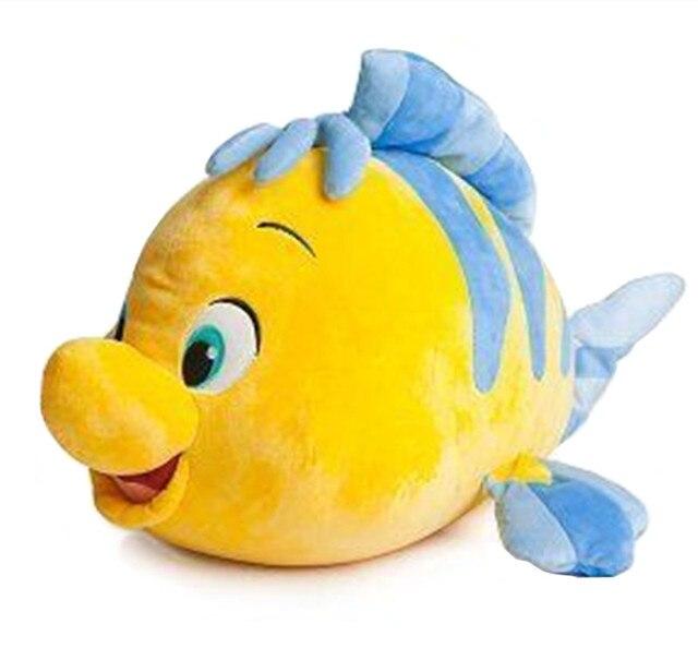 The little mermaid flounder fish plush doll large 50cm 20 for Little fish toys