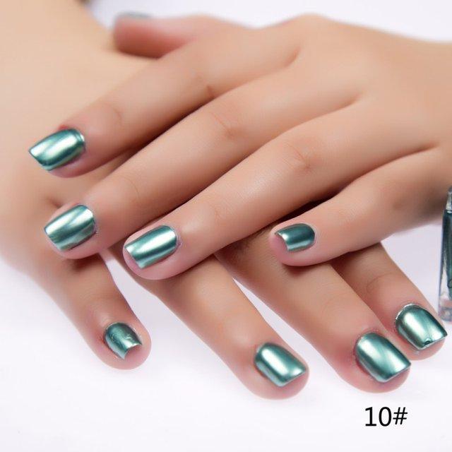 Tienda Online 6 ml metálico Esmaltes de uñas espejo gel de aceite ...