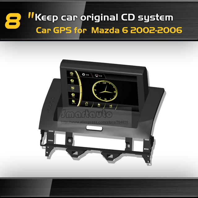 Hdtouch Screen Keep Car Original Cd System Mazda 6 2002