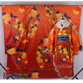 Amor ao vivo! Kousaka Honoka Priented SR ano novo vestido Kimono Cosplay