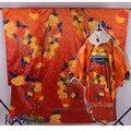 Love Live! Kousaka Honoka Priented SR New Year  Kimono Dress Cosplay Costume