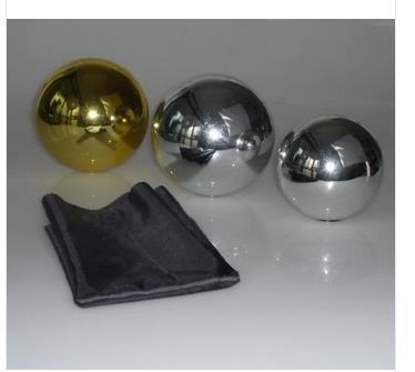 Brezplačna dostava! Zombie Ball with Foulard (12cm, Silver) Magic Trick, Plavajoča čarovnija, trik, zabava, Magia rekviziti, iluzija, oder, šala