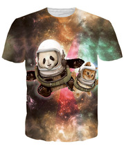 Hot Beloved Astronaut Pals Premium All Over 3D Print T shirt Cotton Clothing Unisex Summer Tee