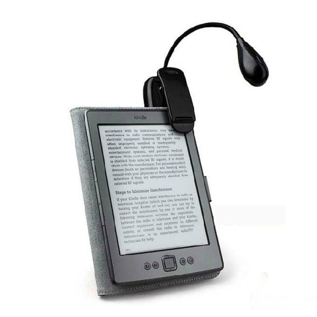 T leesboek licht voor ebook ereader kindle voor pocketbook leeslamp ...