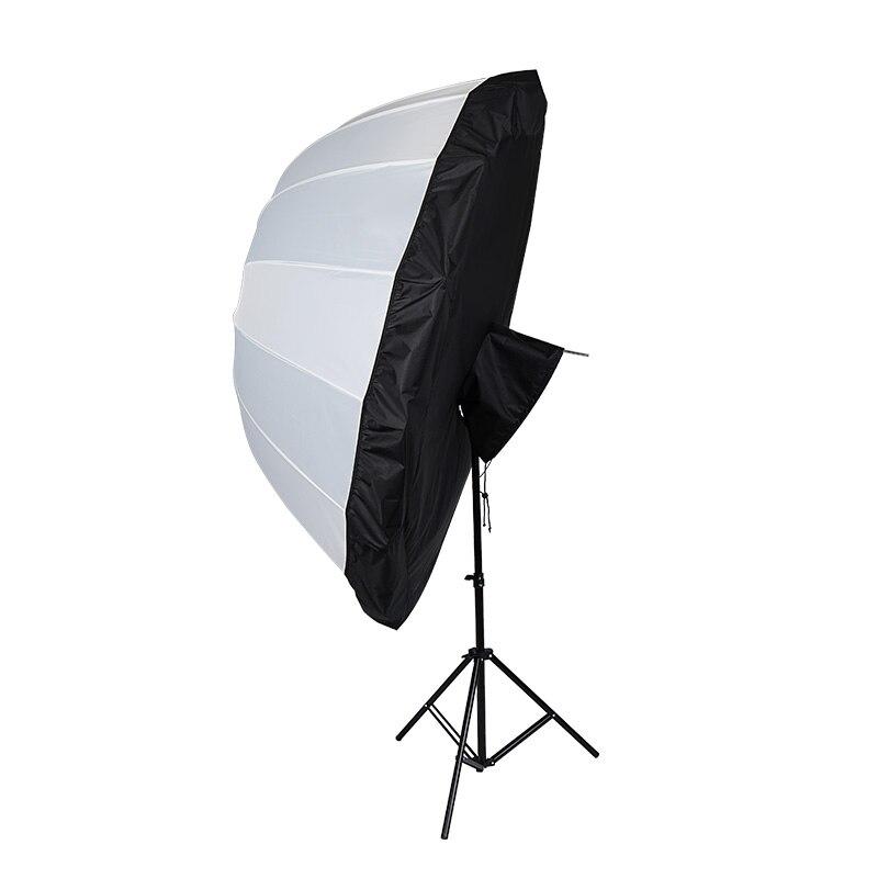 65inch Photographic deep open umbrella Flexible Umbrella Special Reflector With deep Flexible Umbrella
