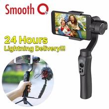 Ulanzi Zhiyun Lisse Q De Poche 3 Axe Smartphone Cardan Stabilisateur Vidéo Sans Fil Pour iPhone X/8/7 Plus/Gopro Hero 5 4/SJCAM YI