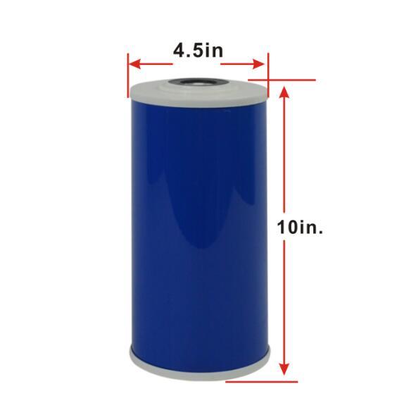 """Смягчение Замена Фильтры 10 """"х 4.5"""" Big Blue катионита картриджа фильтра для воды"""