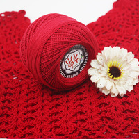 500g Soft Cotton Knitting Yarn For Scarf Sweater Eco friendly Knitted Table Cloth Cap Mat Yarns by 1.5 2.0mm Needles