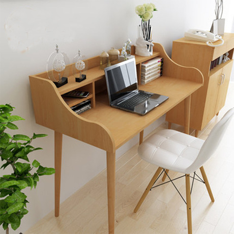 Computer Desks office home bed Furniture solid wood laptop desk whole sale 2017 good price functional 120*101 cm study desk  Стол