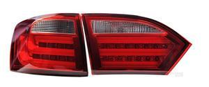 Image 5 - 2 stücke tuning autos Scheinwerfer Für JettaMK6 Scheinwerfer sagitar 2012 2013 2014 2015 LED DRL Lauf lichter Bi Xenon strahl Nebel lichter