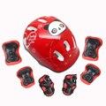 Наколенники для велосипедного шлема  защита для катания на роликах  скейтборде  7 шт.