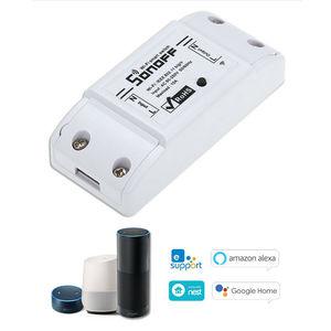 Image 2 - Sonoff スマート無線 Lan スイッチ Diy のスマートワイヤレスリモートスイッチ Domotica 無線 Lan スイッチスマートホームコントローラ Alexa で動作