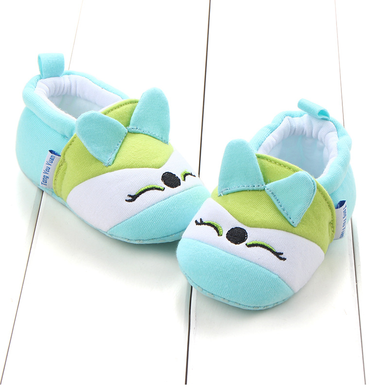 First Walkers Baby Shoes Cotton Anti-slip Booties Baby Girl Boy Shoes Animal Cartoon Newborn Slippers Footwear Booties Kids Gifts (36)