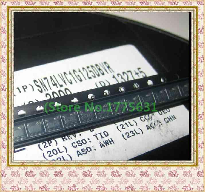 10pcs/lot SN74LVC1G125DBVR 74LVC1G125 Screen C25F SOT-23