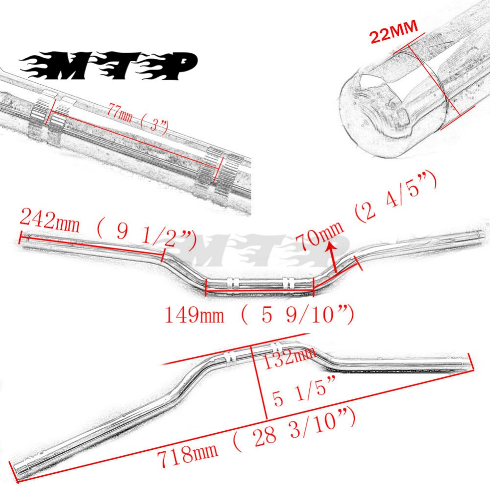 hight resolution of 7 8 22mm standard handlebars drag bars for yamaha suzuki gw250 gsr600 gsr750 sv650 sv1000 kawasaki ninja 400r 650r versys 650 in grips from automobiles