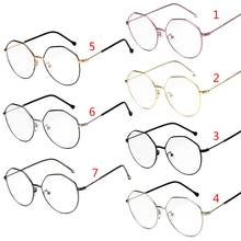 93f333e7c5d1 Hot New Style Men Women Optical Glasses Fashion Unisex Geometric Myopia  Frame Clear Lens Spectacle Eyeglasses High Quality