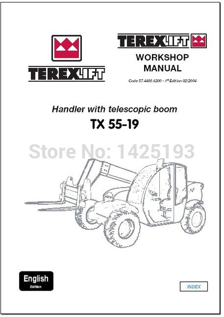 lifts workshop manual and parts manuals forterex in code readers rh aliexpress com terex demag parts manual terex al4000 parts manual
