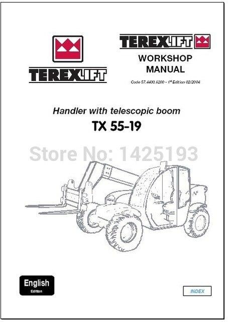 lifts workshop manual and parts manuals forterex in code readers rh aliexpress com Terex Dozer Terex Cranes Careers