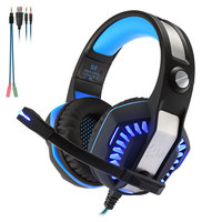 KOTION EACH G2000 Stereo Super Heavy Bass Gaming Headset 2 2m Cable LED Light Over Ear