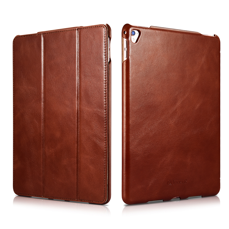 Original ICARER For iPad 9.7 Case Vintage Genuine Leather Folio Smart Case For New iPad 9.7 inch 2017 Cover Magnetic Auto Wake rebecca minkoff сандалии
