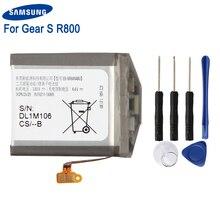Original Samsung Battery EB-BR800ABU For Gear S4 SM-R800 SM-R810 SM-R805 R800 R810 R805 46mm Smart Watch 472mAh
