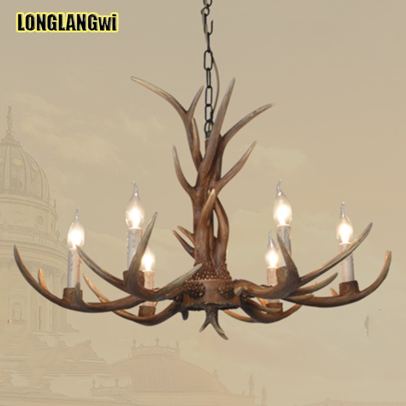 Things To Remember While Buying A Chandelier: Aliexpress.com : Buy Europe Country 6 Head Candle Antler