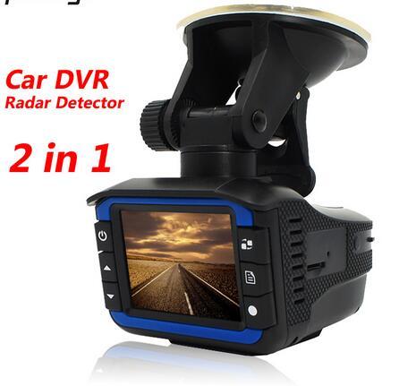 (With Russian Voice) 2 in 1 Car DVR Radar Detector Car Camera Recorder anti radar G-sensor 720P Video Registrator Car-detector розов г какую камеру купить