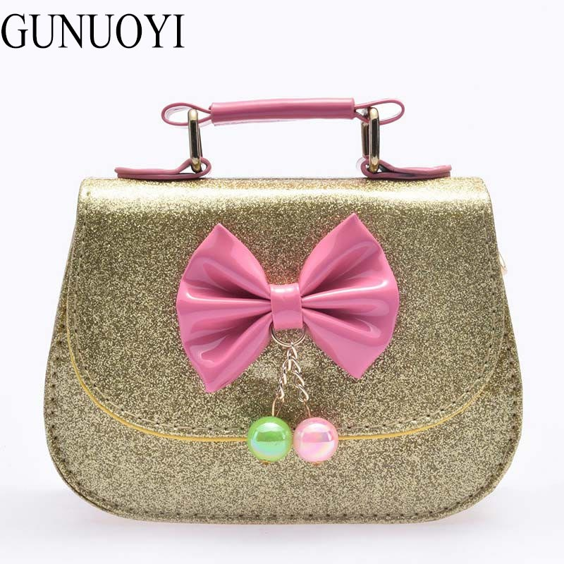 Girls Bag Winky Fluorspar Powder Shoulder Bag Kids Handbag Crossbody Bag For ki