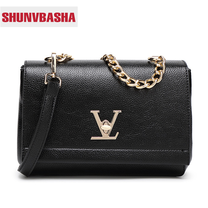 ФОТО 2017 High Quality Loui Ladies Deform Litchi profile Bats Bag Women Chain Shoulder Leather Purses Handbags Bolsas Feminina Clutch