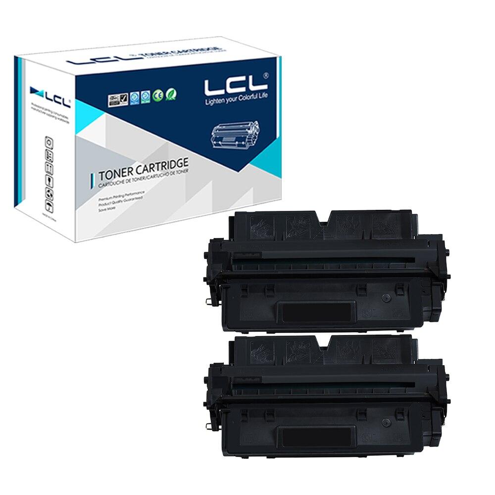 ФОТО LCL FX7 7621A001AA FX-7 (2-pack) Black Toner Cartridge Compatible for Canon LaserCLASS 710, 720i, 730i; L2000, L2000 IP (FX7)