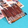 20 Pcs Mais Barato Professional Makeup Brushes Set Fundação Sombra Nariz Lip Brush Tool Maquiagem