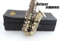 Alto Saxophonehigh Quality Selmer Alto Saxophone Sax Bb 54 Professional Reference Sax Bronze Musical Instruments